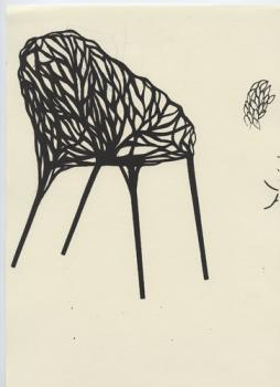 Vegetal chair: Growing