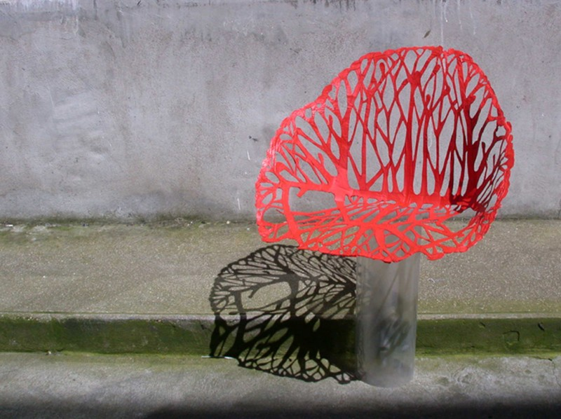 R e bouroullec detail vegetal chair growing - Ronan et erwan bouroullec ...